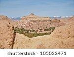 general view of ancient ait ben ... | Shutterstock . vector #105023471