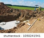 concrete septic holding tanks...