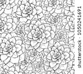 Cactus Seamless Vector Pattern...