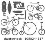 active city transport eco... | Shutterstock .eps vector #1050244817