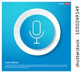 voice microphone icon abstract...