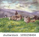 Eden Valley. Painting Of A...