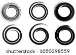 abstract vector spiral elements ... | Shutterstock .eps vector #1050298559