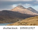 the clisham hills from aird... | Shutterstock . vector #1050311927