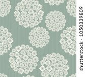 seamless damask pattern.... | Shutterstock .eps vector #1050339809