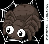 cute spider cute vector | Shutterstock .eps vector #1050352427