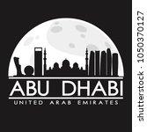 abu dhabi united arab emirates... | Shutterstock .eps vector #1050370127