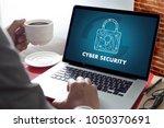 cyber security business ... | Shutterstock . vector #1050370691