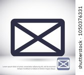 vector icon mail 10 eps | Shutterstock .eps vector #1050376331
