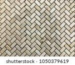 stone brick wall textured...   Shutterstock . vector #1050379619