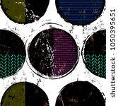 seamless background pattern ... | Shutterstock .eps vector #1050395651