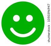 glad smile vector pictograph.... | Shutterstock .eps vector #1050396947