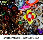 colourful ladies ornaments... | Shutterstock . vector #1050397265