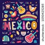 beautiful vector illustration... | Shutterstock .eps vector #1050425285