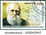 cuba   circa 2009  a stamp... | Shutterstock . vector #105042947