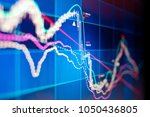 a technical stocks and shares... | Shutterstock . vector #1050436805