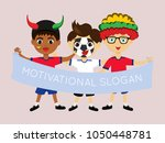 fan of myanmar national...   Shutterstock .eps vector #1050448781