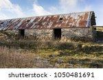 abandoned croft of easter...   Shutterstock . vector #1050481691