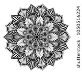 mandalas for coloring book.... | Shutterstock .eps vector #1050516224