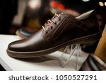 stylish leather   lacquered men'... | Shutterstock . vector #1050527291
