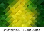 light green  yellow vector... | Shutterstock .eps vector #1050530855
