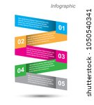 modern design template  can be... | Shutterstock .eps vector #1050540341