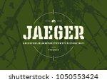 original stencil plate slab... | Shutterstock .eps vector #1050553424