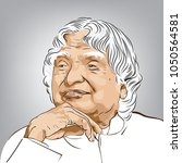 dr. a.p.j abdul kalam. the...   Shutterstock .eps vector #1050564581