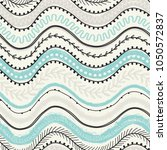 template of seamless pattern.... | Shutterstock .eps vector #1050572837