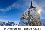 Aguille Du Midi Tower And...