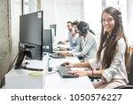 beautiful smiling woman...   Shutterstock . vector #1050576227