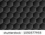 hexagonal abstract background | Shutterstock . vector #1050577955