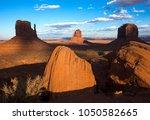 west mitten  east mitten in... | Shutterstock . vector #1050582665
