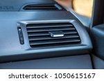 air conditioning vent interior...   Shutterstock . vector #1050615167