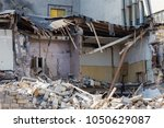 An Abandoned House Collapses I...