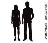 vector silhouettes man and... | Shutterstock .eps vector #1050631931