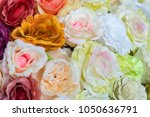 colorful design pattern of... | Shutterstock . vector #1050636791