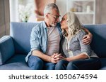 love lives forever  senior... | Shutterstock . vector #1050674594