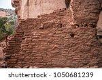 native american indian ruins... | Shutterstock . vector #1050681239