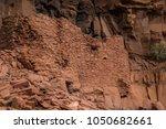 native american indian ruins... | Shutterstock . vector #1050682661