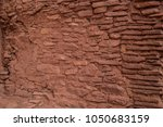 native american indian ruins... | Shutterstock . vector #1050683159