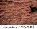 native american indian ruins... | Shutterstock . vector #1050683405
