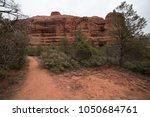 desert scene landscape agave... | Shutterstock . vector #1050684761