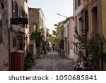 cunda turkey   august 30  2017  ...   Shutterstock . vector #1050685841