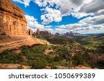 sedona arizona valley desert... | Shutterstock . vector #1050699389