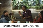 group of cheerful african...   Shutterstock . vector #1050703781