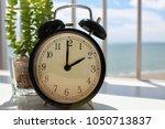 daylight savings spring forward ... | Shutterstock . vector #1050713837