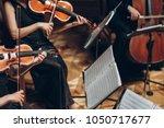 Elegant String Quartet Playing...