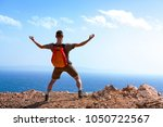 finally  the man came to the...   Shutterstock . vector #1050722567