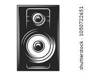 acoustic speakers. vector... | Shutterstock .eps vector #1050722651